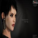 AZOURY - Serenissima Earring - AD