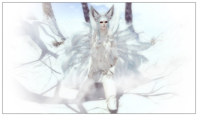 Winter Kitsune